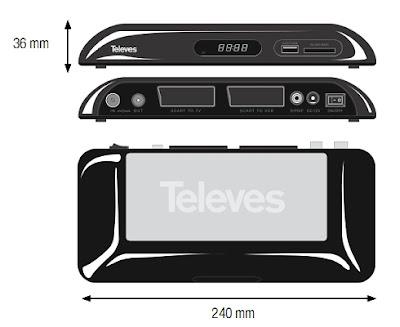 televes nuevo2 Descubrimos el Menú del Televés 7142 TDT USB (  Unboxing )
