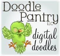 Doodle Pantry Digital Images