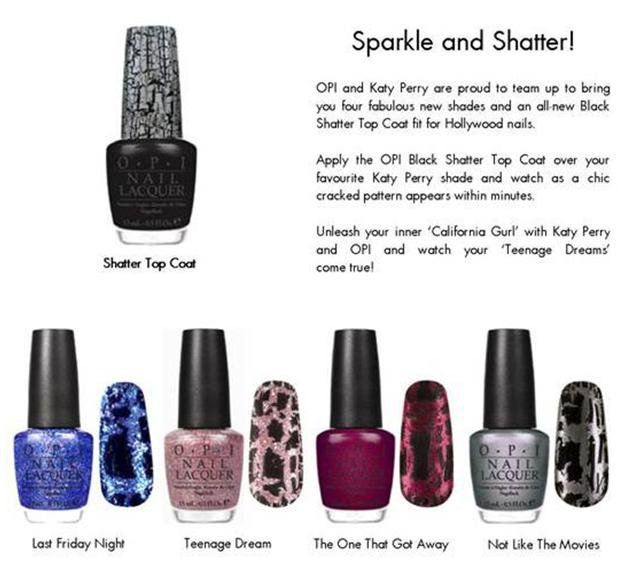 katy perry nail polish collection. Katy Perry OPI Nail Polish.
