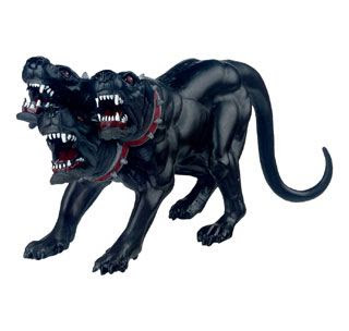 Dalam mitor Yunani, Cerberus adalah anjing raksasa berk