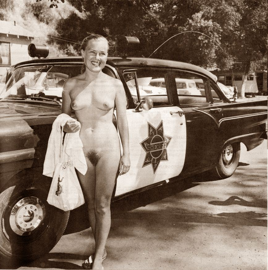 vintage porn with cops