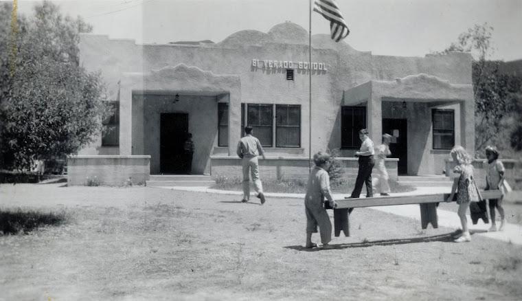 Silverado Elementary School, circa 1930