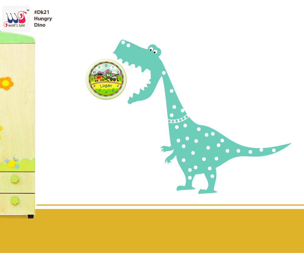 baby wall stickers dinosaur wall sticker hungry dino