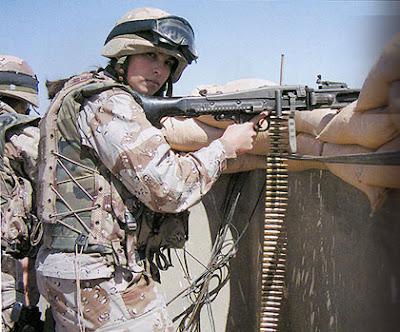 DOMINGO, 4 DE ABRIL DE 2004 (2º PARTE) -EL LADO ESPAÑOL- BATALLA DE AN NAJAF Cabo-con-metralladora
