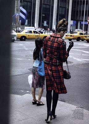 Karlie Kloss by Peter Lindbergh for Vogue US September 2010
