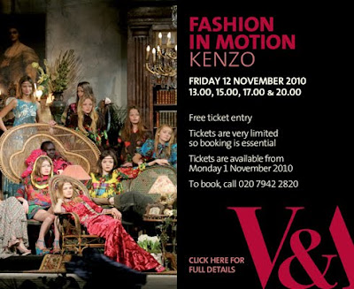 Kenzo – Fashion in Motion – Victoria & Albert Museum