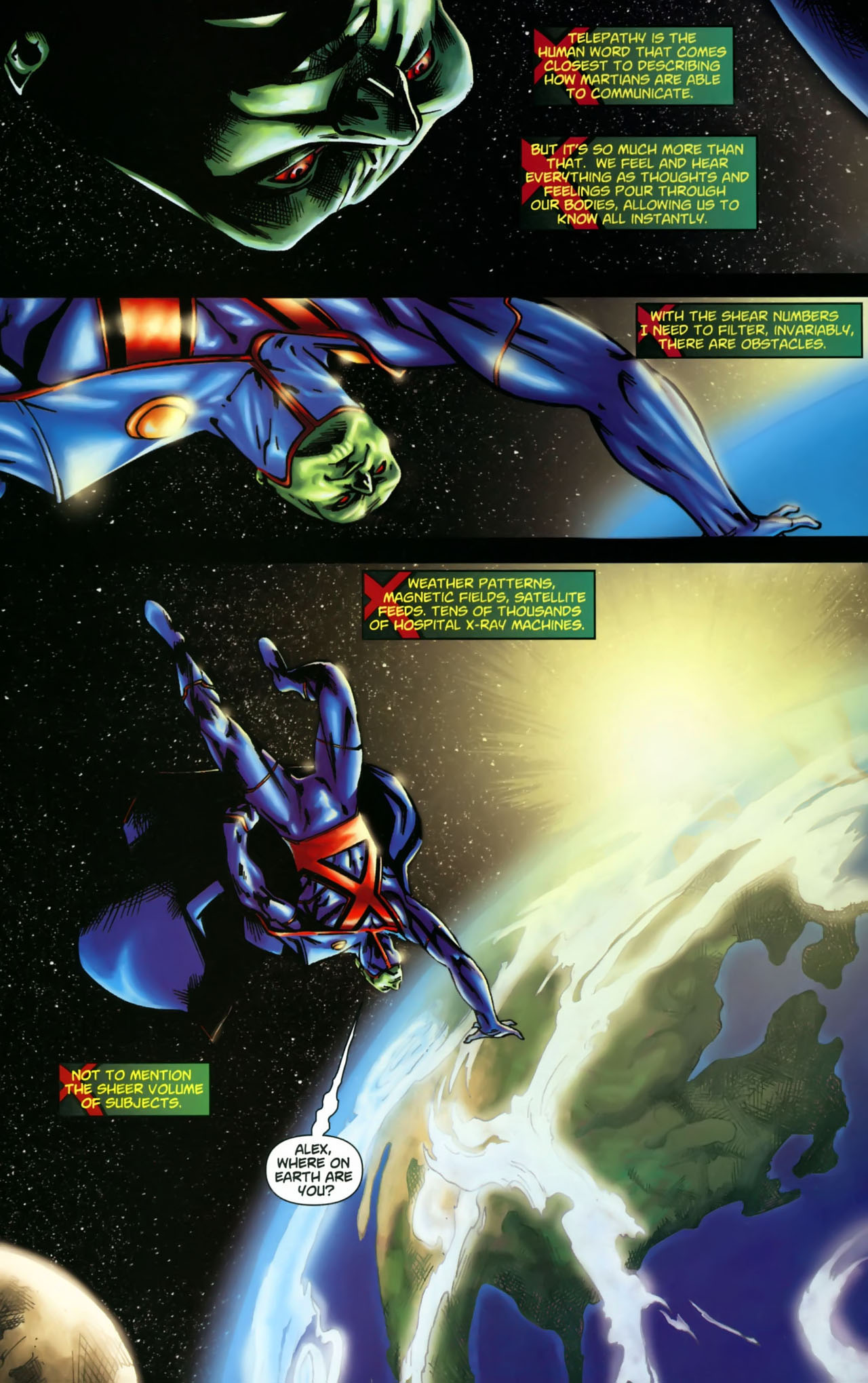 Read online Martian Manhunter (2006) comic -  Issue #3 - 7