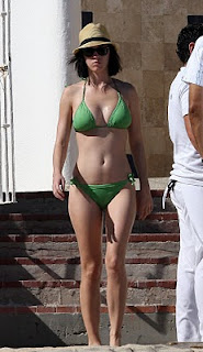 hot katy perry nude and naked green bikini pictures