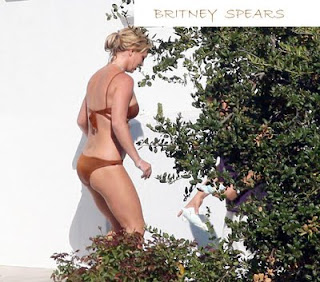 britney spears in bikini nude and naked bathing scenes wallpapers