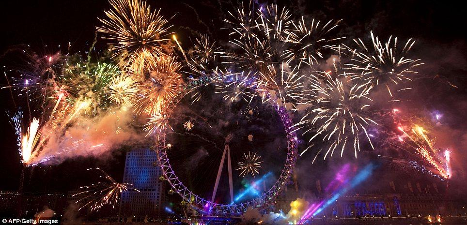 inilah pesta kembang api menakjubkan