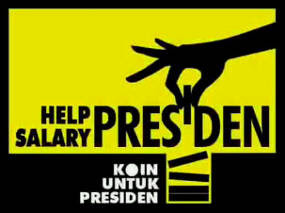 Help Salary Presiden, Sumbang Gaji SBY
