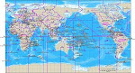HAM RADIO WORLD MAP