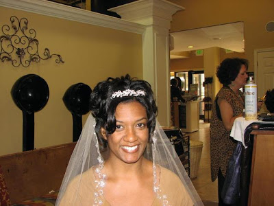 African American Wedding Hairstyles & Hairdos: January 2009