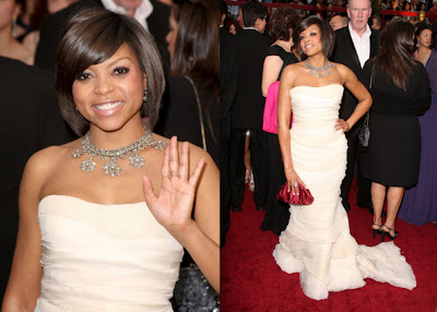 Wedding Hairstyles & Hairdos: Taraji P. Henson: Medium Length