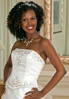 African American Wedding Hairstyles Amp Hairdos Bridal Ringlets