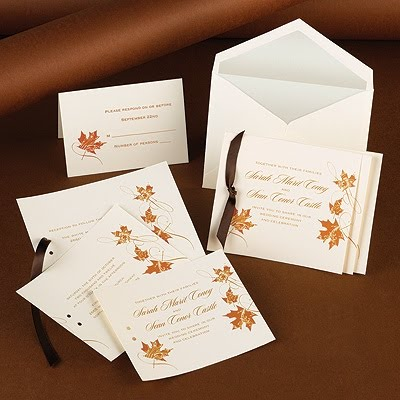 Fall Themed Wedding Invitations on Wedding Luxe  Simple Themed Wedding Invitations
