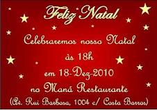 Convite Natal 2010
