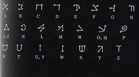 Alfabeto dos magos