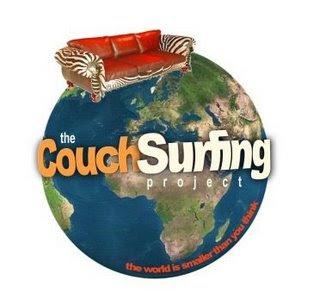 Red de alojamiento gratuito Couchsurfing