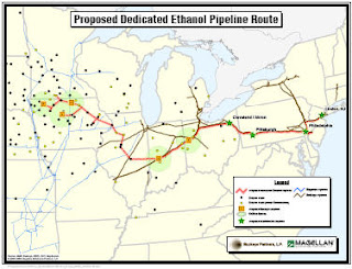 ethanol pipeline