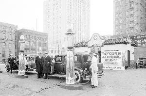 Ethanol station 1933 Food vs Fuel Ethanol Energy