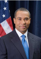 Massachusetts Governor Deval Patrick