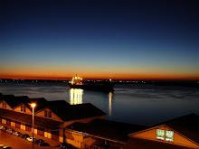 Cais do porto em Porto Alegre