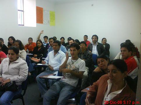 Capacitación DE LINEA BASE FAMILIAR A COGESTORES SOCIALES DE LA MICROREGION 065.