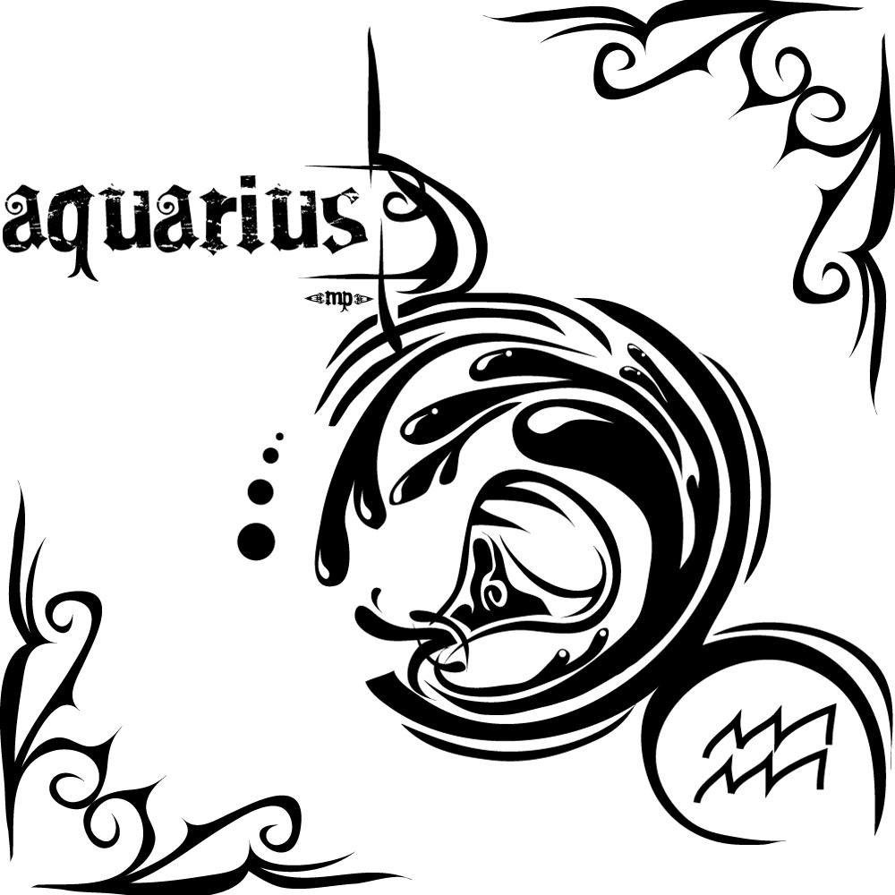 Tattoo Designs Zodiac Sign: Honey BEE Billi: Info About Aquarius