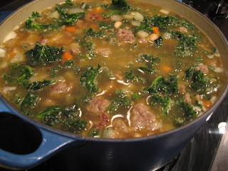 Its A Keeper Sausage Beans And Broccoli Rabe Soup