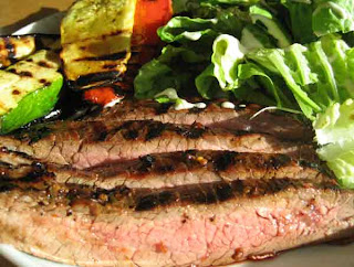 It's A Keeper: Korean Flank Steak and Grilled Vegetables