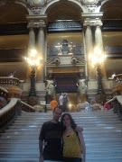 * Christine y Erik en la Opera Garnier.