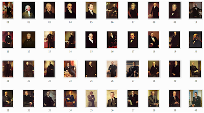 List of presidents of the united states with pictures and for Pictures of all presidents of the united states in order
