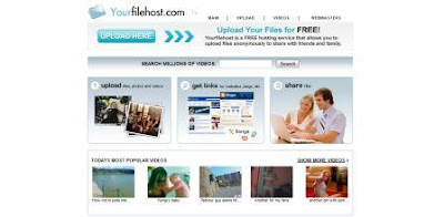 Free hosting for ALL your files include videos