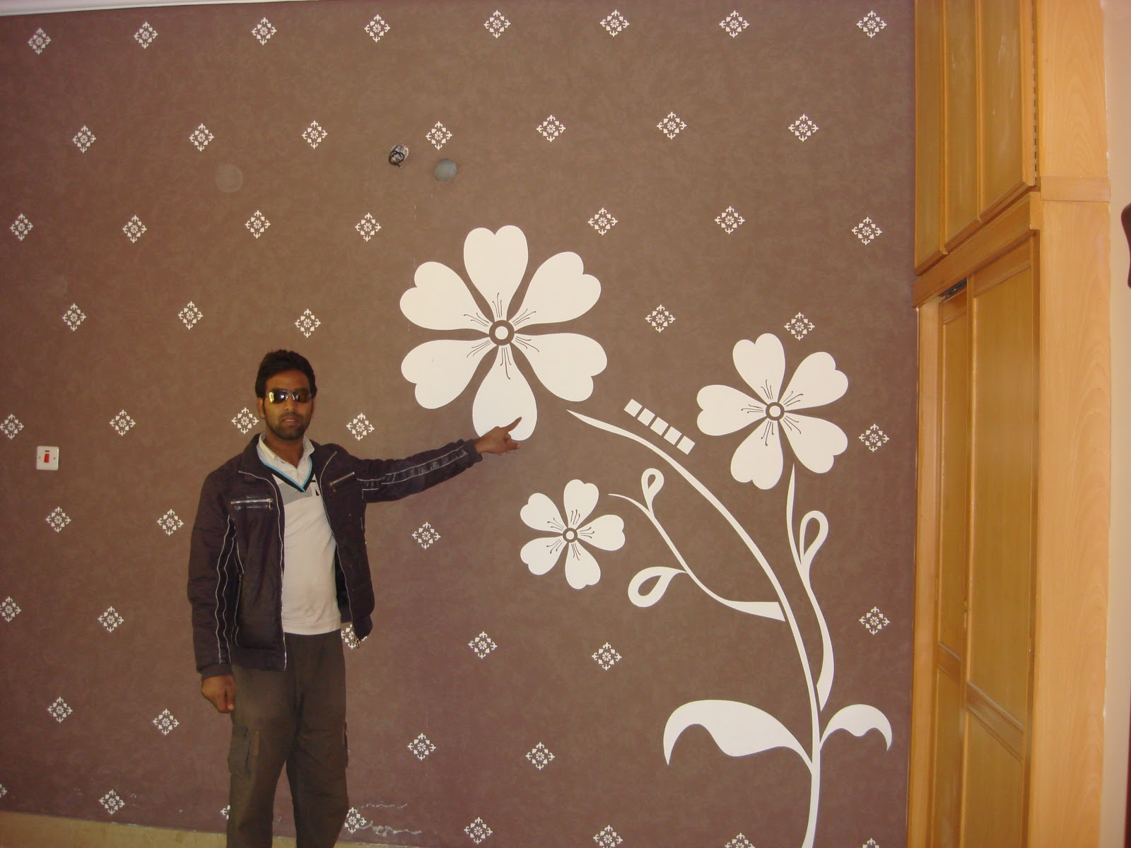 Bedroom Paint Ideas In Pakistan arslan paints okara: amazing walls desgins in okara pakistan