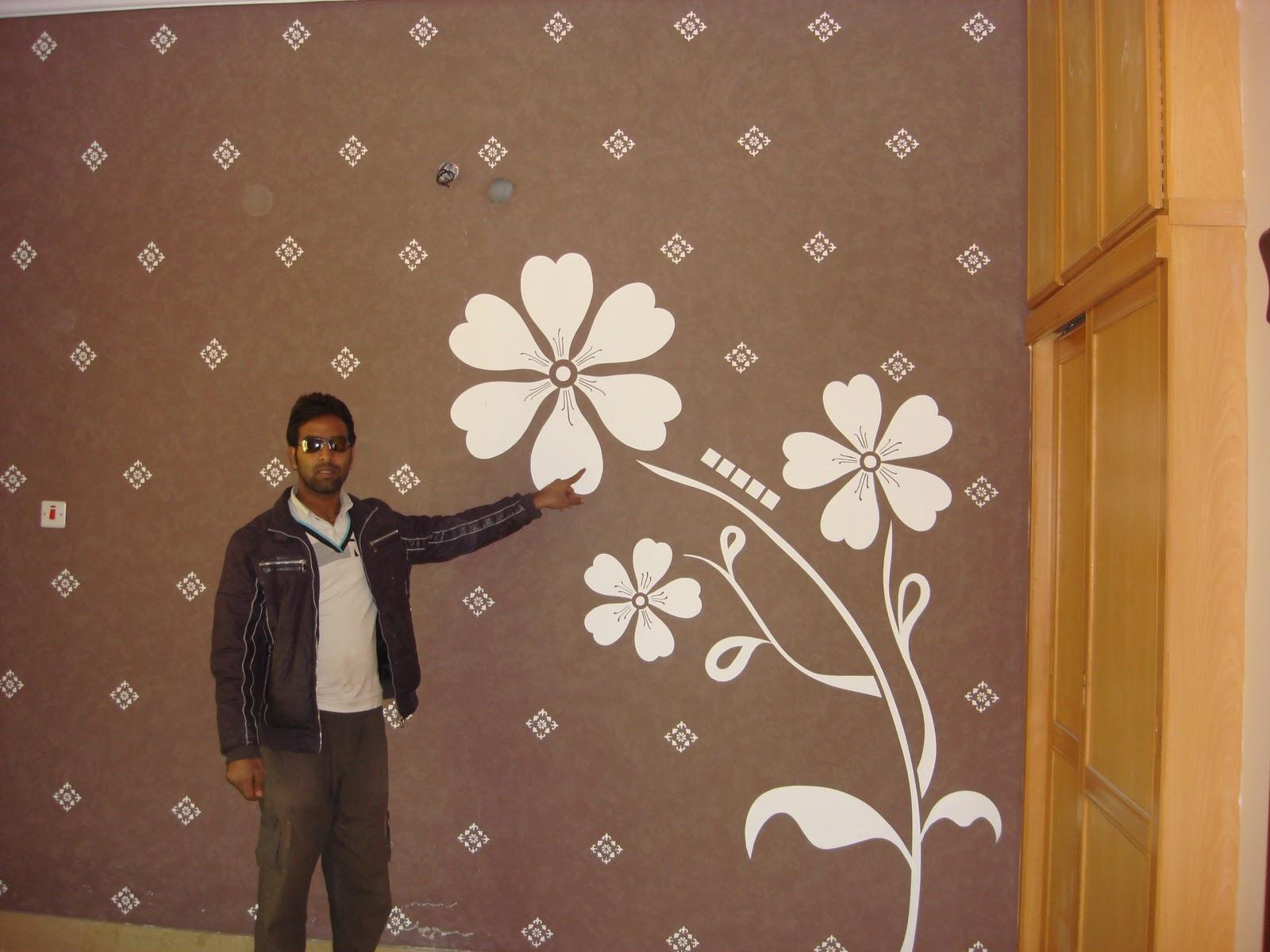 ARSLAN PAINTS OKARA amazing walls desgins in okara pakistan