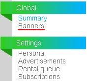 Реферален линк и банери в Neobux
