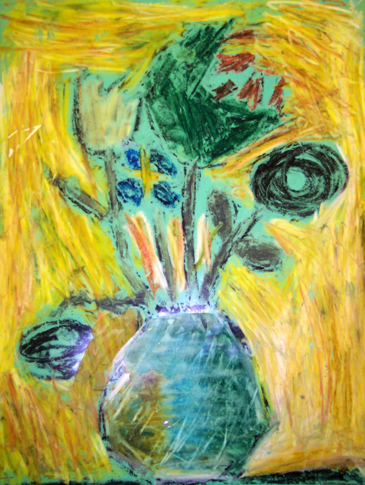 Wel e Van Gogh Flowers