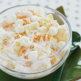 The BEST Ambrosia Salad - Mom On Timeout