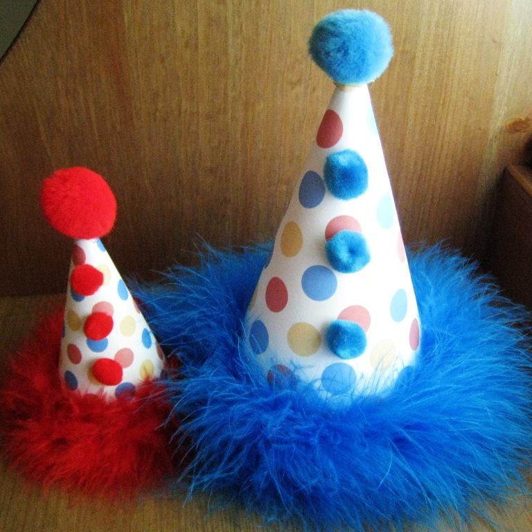 Quaintly Garcia: The Party Planning Mommy: DIY Party Hats