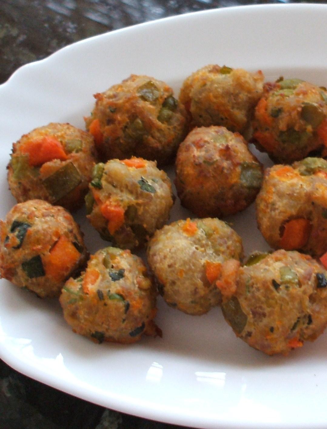 El blog de se a patricia alb ndigas de pollo y verdura - Albondigas de verdura ...