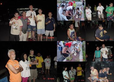 Run 887 circle pix collage