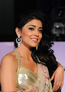 Shriya  Stills In Saree Pantaloons Femina Miss South India 2011 (13)