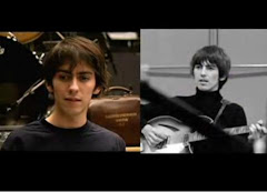 Dhani and George Harrison