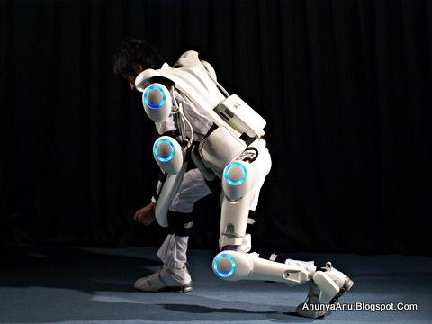 Baju Robot Yang Bisa Meningkatkan Kekuatan Manusia Penggunanya