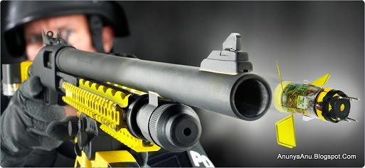 Senjata Pelontar Proyektil Elektronik Jarak Jauh