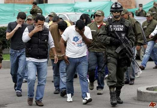 Anggota Kartel Narkoba Kolombia Tertangkap