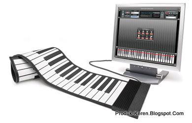 Keyboard Gulung khusus untuk USB Saja Dan hanya bisa dimainkan dengan komputer