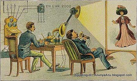 Konferensi Video Atau Telepon Video Mimpi Dari Masa Lalu