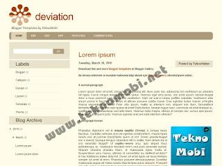 left sidebar, blogger templates, 2 columns